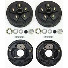 "Trailer 5 on 5"" B.C. Hub Drum Kits with 10"" x2-1/4 Electric Brakes for 3500 Lbs Axle"