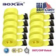 "(10) Boxer DOT 4"" X 30' Winch Straps w/Flat Hook Flatbed Truck Trailer Tie Down 5400 LB US Made"