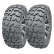 Set of 2 Wanda ATV/UTV Tires 27x9R14 /8PR Radial Deep Tread -10282