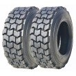 2 New ZEEMAX Premium Super Duty 12-16.5 12PR L4 Skid Steer Tire w/ Rim Guard