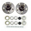"2 Trailer Idler Hub Kits 5 on 4.5"" for 2000 lbs Axle"