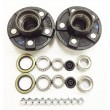 "2 Trailer Idler Hub Kits 5 on 4.5"" for 3500 lbs Axle"