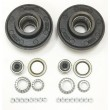 "2 Trailer Idler Hub Kits 8 on 6.5"" for 7000 lbs Axle"