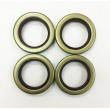 Set of 4 Trailer Hub Grease Seals E-Z Lube 3500 lbs Axle 1.719 x 2.565