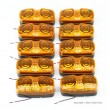 "Pack 10 AMBER Trailer RV LED 2""x4"" Bullseye Marker Light w/Advanced SMD LED"