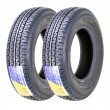 Set 2 Premium FREE COUNTY Trailer Tires ST175/80R13 Radial 8PR LR D
