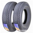 Set 2 Premium Free Country Trailers Tire ST235/85R16 Radial 12PR Load Range F w/Scuff Guard