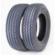Set of 2 Free Country Trailer Tires ST205 75D15 Bias 6PR LR C