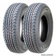 Set 2 Freedom Hauler Trailer Tires ST175/80R13 Radial 6PR Load Range C