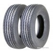 Set of 2 Grand Ride Premium Trailer Tire ST205/75R14 Radial 8PR LR D