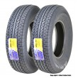 Set 2 Premium WINDA Trailer Tires ST235/80R16 Radial 10PR LR E w/Side Scuff Guard